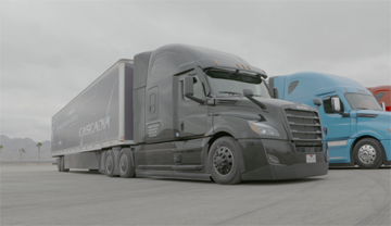 Mercedes Freightliner Shoot